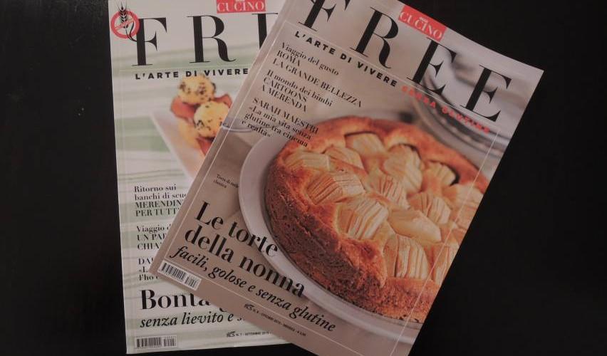 """""""Free"""" – Oggi Cucino's New Italian Gluten-free Magazine"""